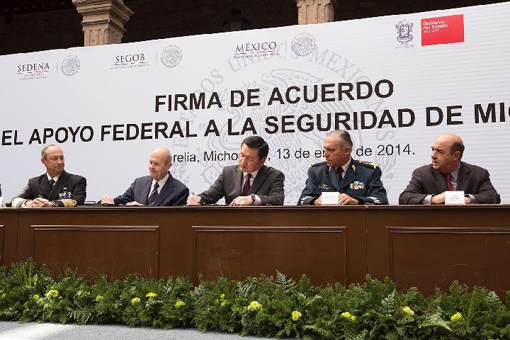 El Gobierno de la República, a cargo de la seguridad en Tierra Caliente, Michoacán
